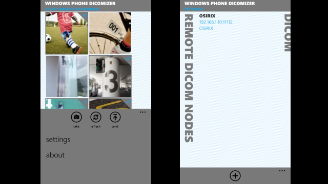 Windows Phone Dicomizer